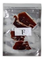 Sachet sous vide de l'échantillon du jambon F