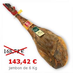 Jambon de Jabugo AOC Huelva Selección Cebo