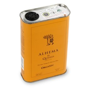 Huile d'olive vierge extra bio Alhema de Queiles 500 ml