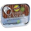 Filets d'anchois de Cantabrie à l'huile d'olive Hoya 78 gr