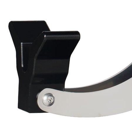 Jambon pata negra placé sur un Jamonero Buarfe Elite Plus, appui inférieur en forme de V