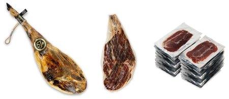 Jambons entiers de bellota pata negra espagnols ibériques