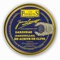 Sardines à l'huile d'olive Los Peperetes 150 g (sardinillas)